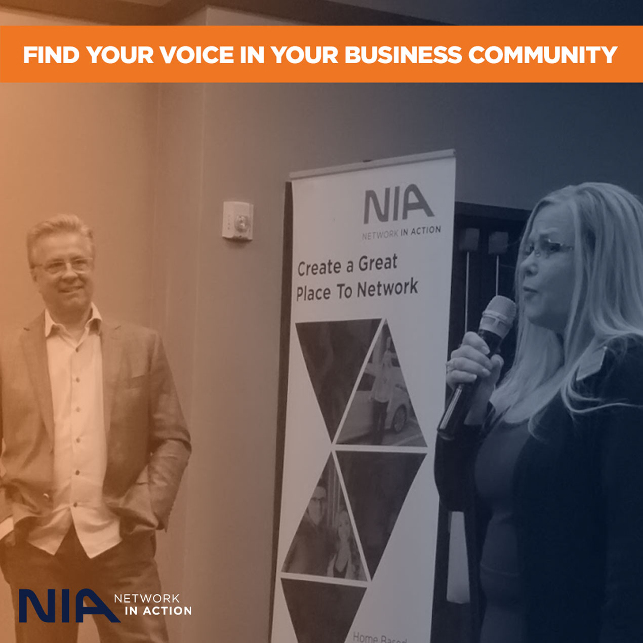 Find Your Voice In Your Business Community
